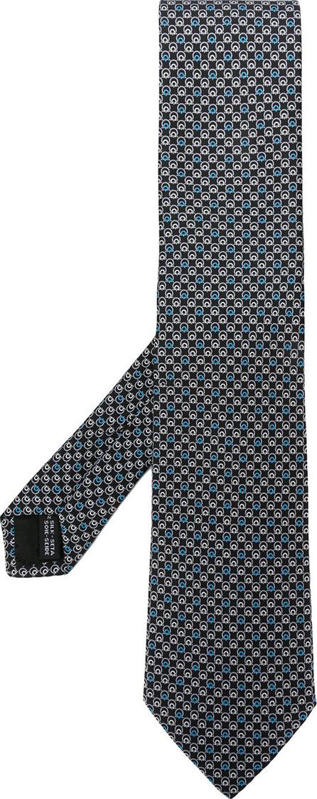 Salvatore Ferragamo Micro Gancio print tie