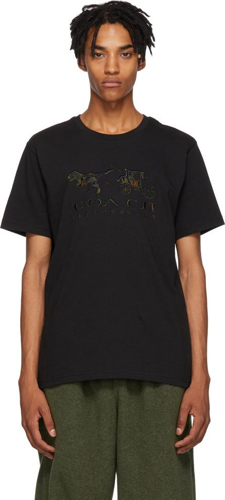 COACH 1941 Black Rexy & Carriage Camo T-Shirt