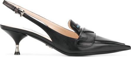 Prada Slingback loafer pumps