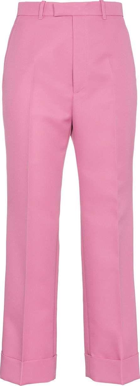 Gucci Pink Straight Leg Cropped Trousers