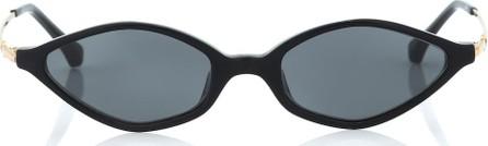 Alessandra Rich x Linda Farrow angular sunglasses