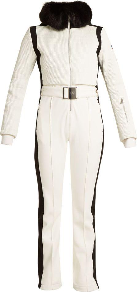 Fusalp Ingrid detachable-fur ski jumpsuit