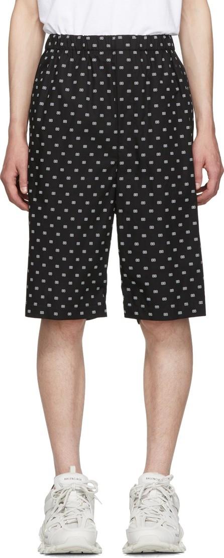 Balenciaga Black & White BB Boxer Shorts