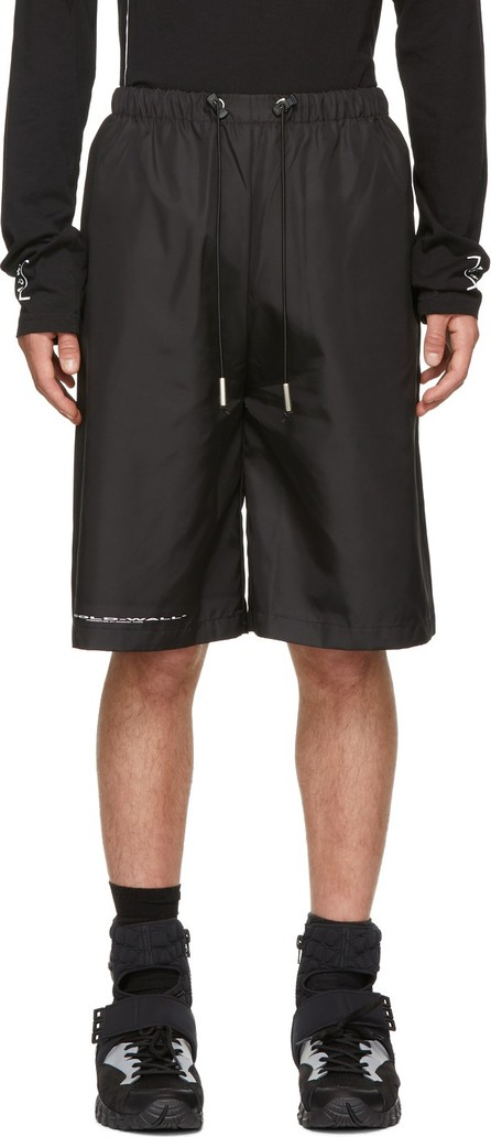 A-Cold-Wall* Black Logo Shorts