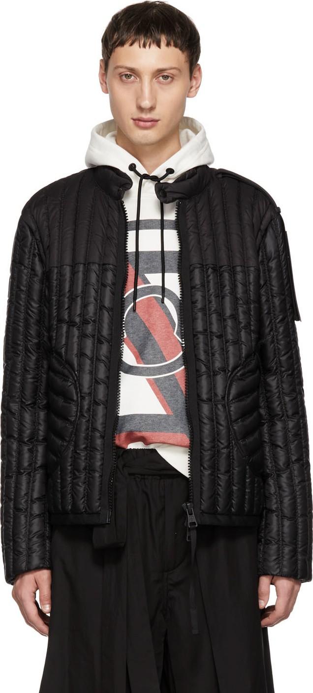 9d2d3c42c9d7 Moncler Genius SSENSE Exclusive 5 Moncler Craig Green Black Down Triton  Jacket