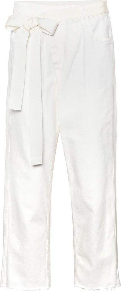 Brunello Cucinelli Th Wrap Square cropped jeans