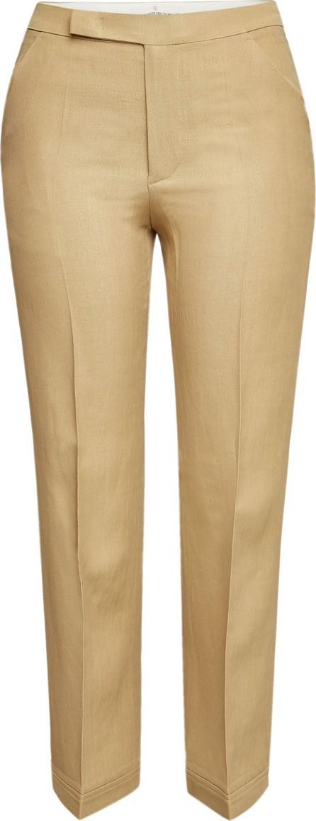 Golden Goose Deluxe Brand Summer Straight Leg Pants with Linen