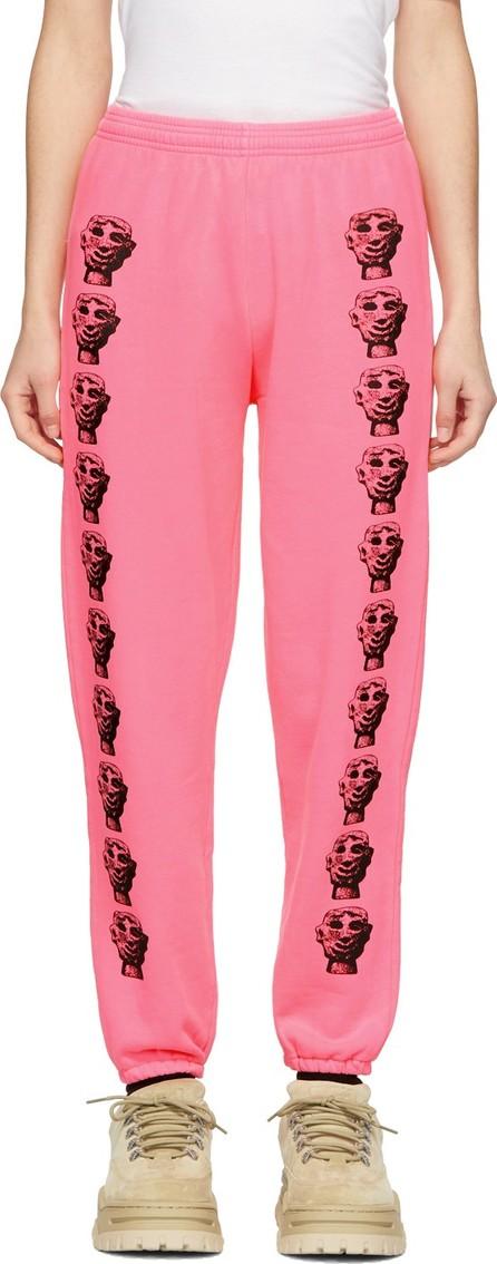 Ashley Williams Pink Stone Head Lounge Pants
