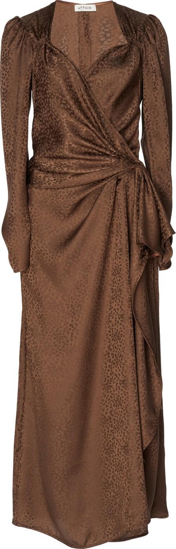 Attico Jacquard Dress
