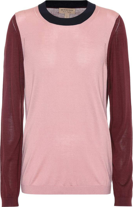 Burberry London England Silk and cashmere sweater