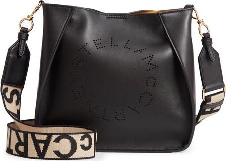 Stella McCartney Perforated Logo Faux Leather Crossbody Bag
