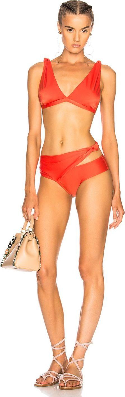 Adriana Degreas Solid Knot Bikini