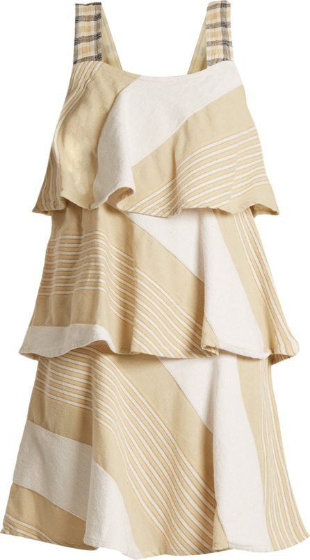 ace&jig Simone tiered cotton-blend dress