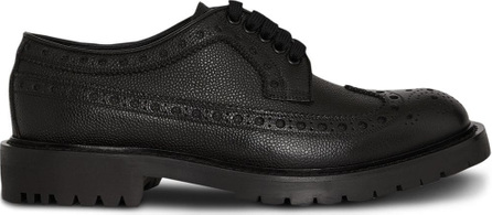 Burberry London England Brogue Detail Grainy Leather Derby Shoes