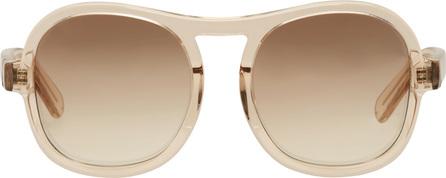 Chloe Pink Round Sunglasses