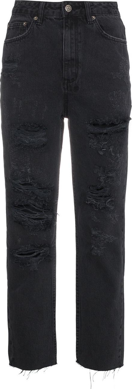 Ksubi Distressed Chlo High Rise Jeans