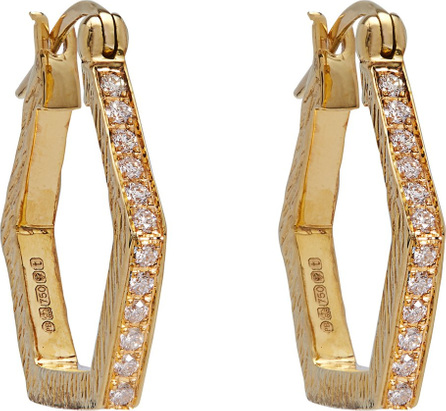 Patcharavipa 18kt gold & diamond earrings