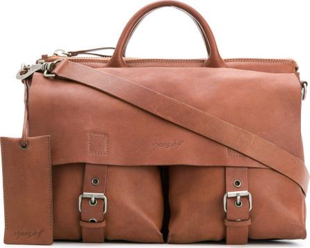Marsell Double pocket satchel