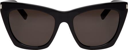 Saint Laurent Black SL 214 Kate Sunglasses