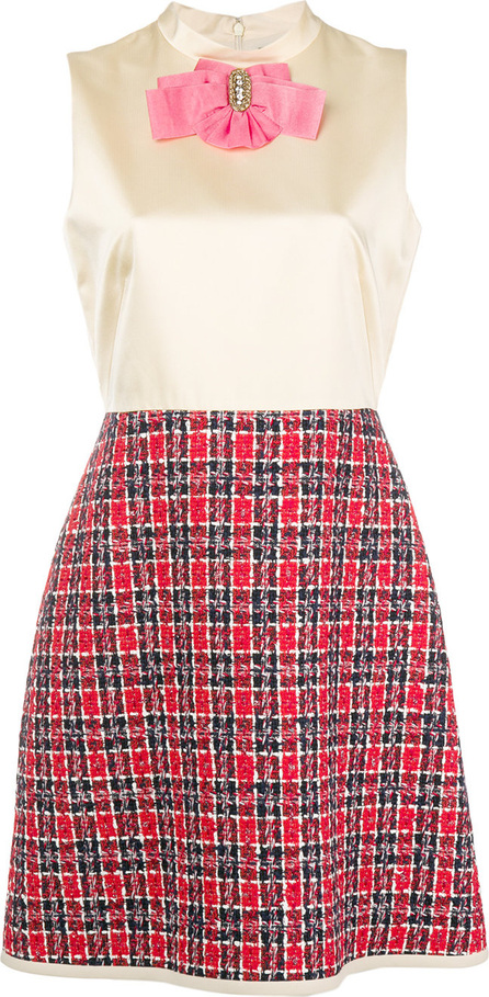 Gucci Bow tweed skirt dress