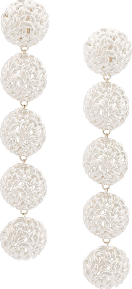 Bea Bongiasca Semisphere rice ball drop earrings