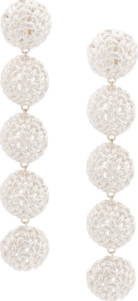 Bea Bongiasca Semisphere rice ball drop earrings