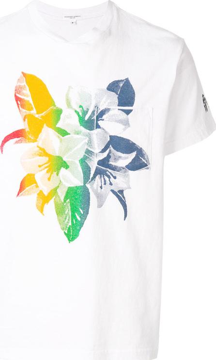 Engineered Garments Gradient floral T-shirt