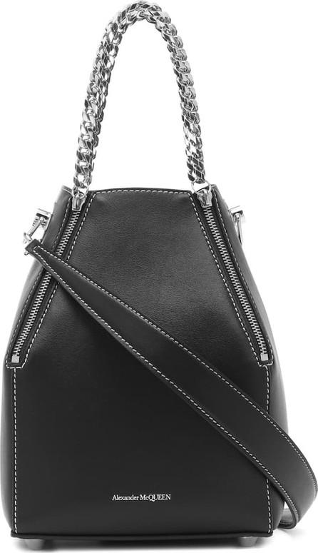 Alexander McQueen Heraldic Medium leather shoulder bag