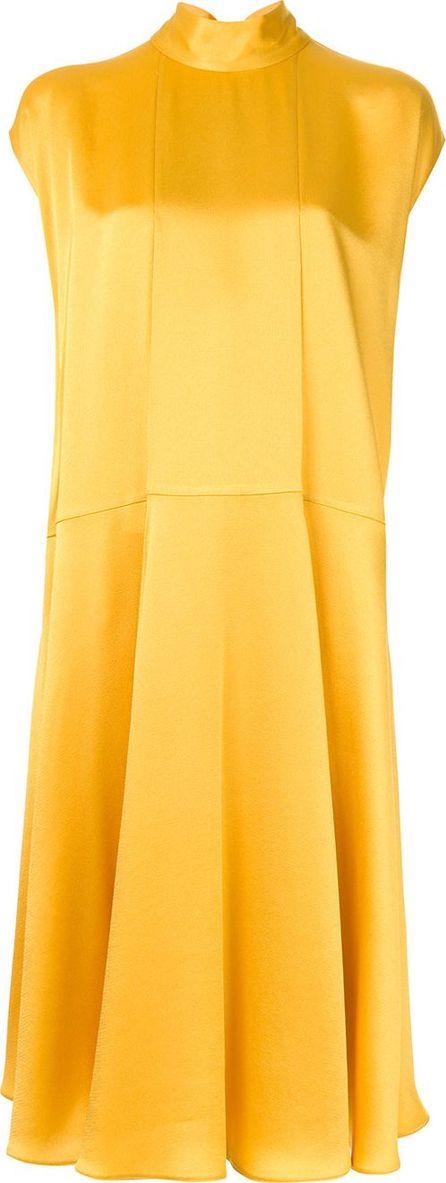 Valentino tie neck A-line dress