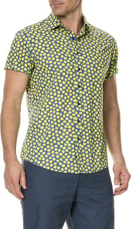 Rodd & Gunn Men's Davis Bay Lemon-Graphic Short-Sleeve Sport Shirt