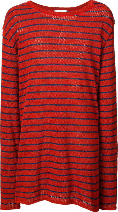 Faith Connexion Striped oversized jumper