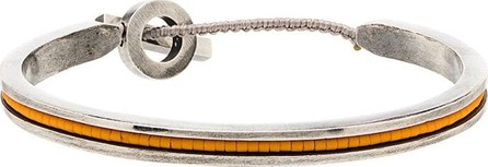 M. Cohen Beaded stripe bangle bracelet