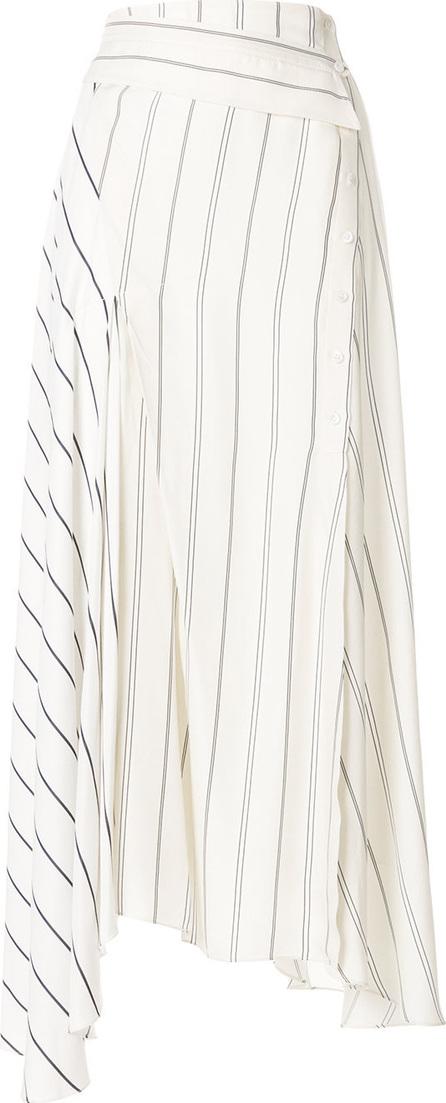 3.1 Phillip Lim Asymmetric striped skirt