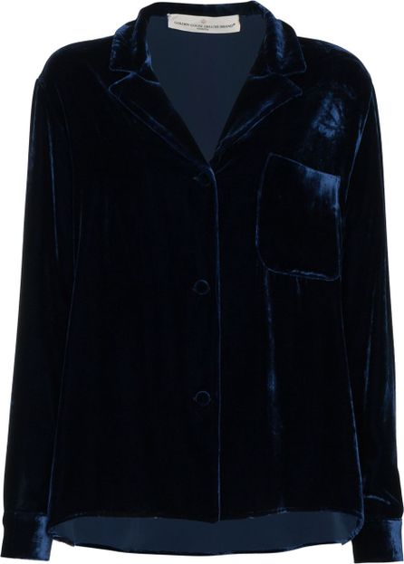 Golden Goose Deluxe Brand Single breasted velvet blazer