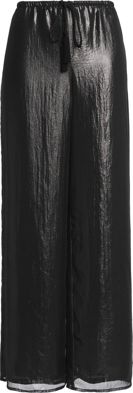 Bailey 44 Layered coated voile wide-leg pants