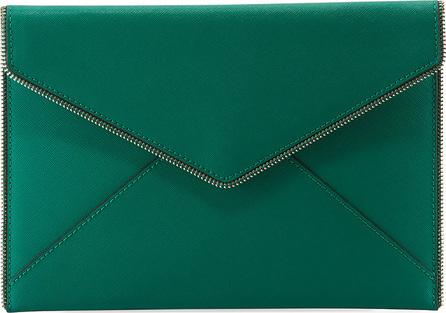 Rebecca Minkoff Leo Saffiano Envelope Clutch Bag