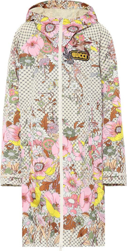 Gucci Embellished floral-printed jacket