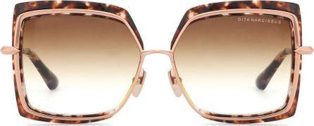 DITA Square tortoishell sunglasses