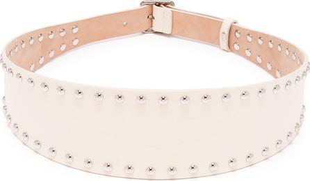 Alexander McQueen Stud-embellished leather belt