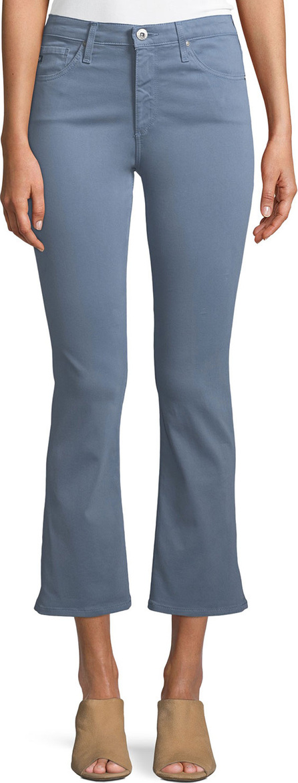 AG Jeans Jodi Slim Flared Crop Jeans