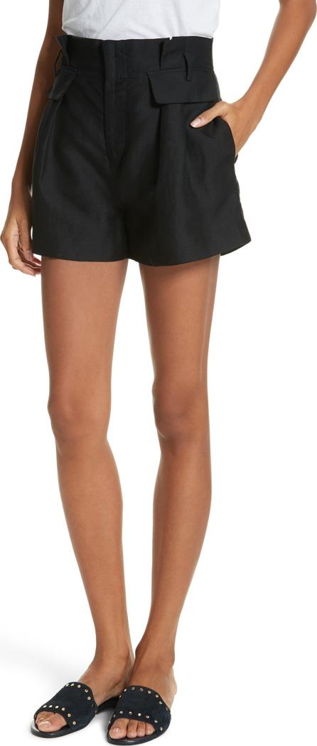 FRAME DENIM Paperbag Shorts