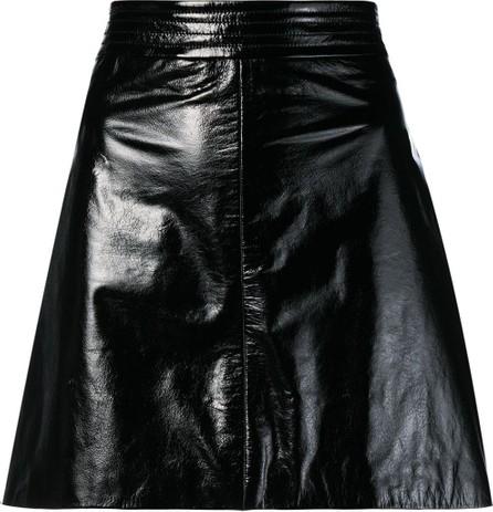 Arma Patent A-line skirt