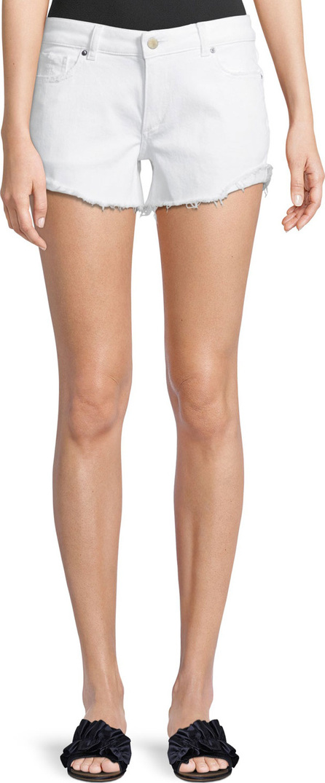 DL1961 Karlie Low-Rise Boyfriend Shorts