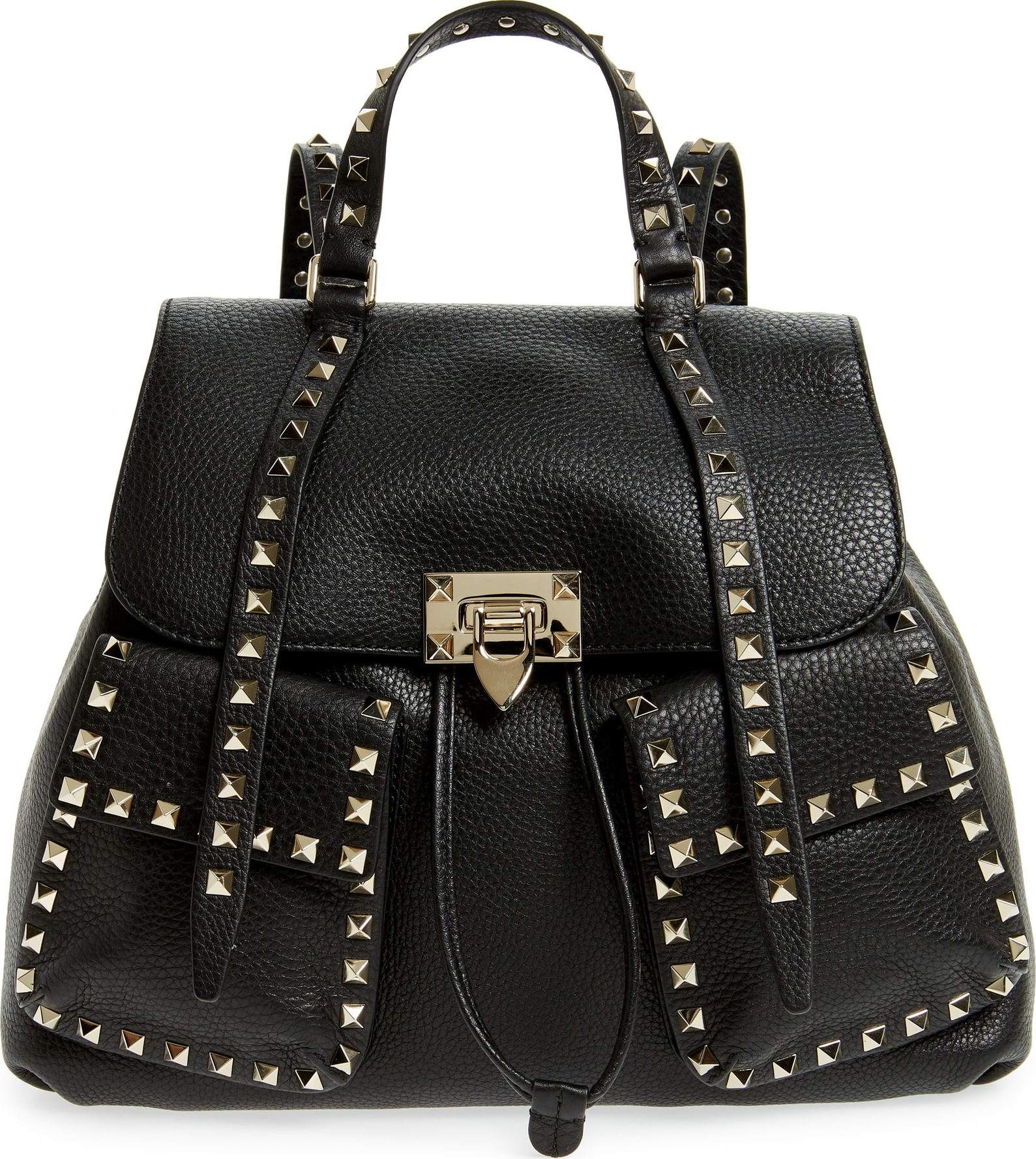 901e57b3a4a Valentino Studded Leather Backpack- Fenix Toulouse Handball