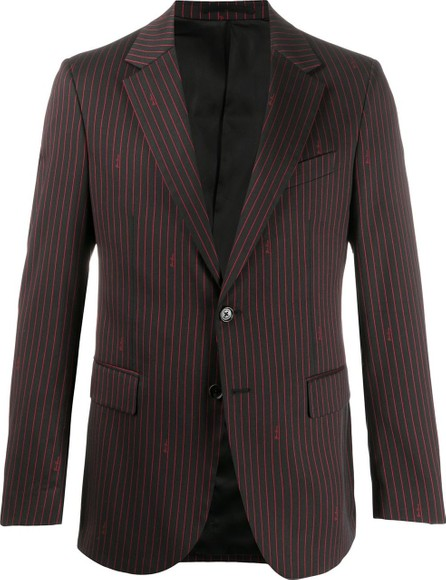 Versace Pinstripe single-breasted blazer