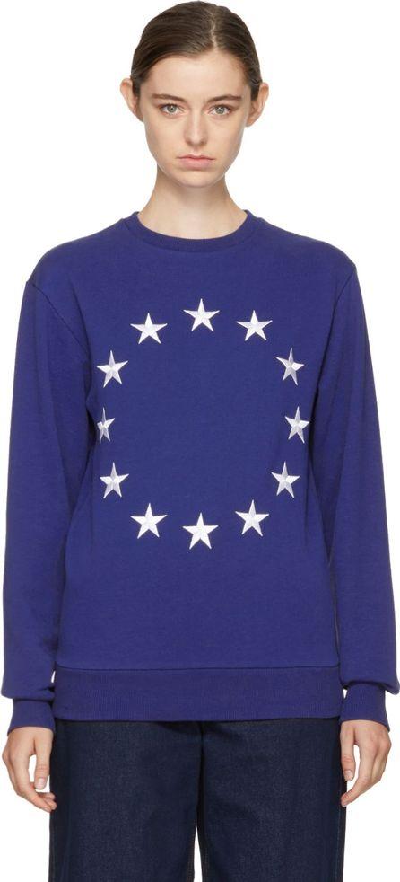 Etudes Blue Étoile Europa Sweatshirt