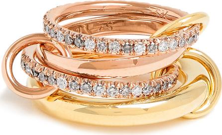 Spinelli Kilcollin Cancer diamond, yellow & rose-gold ring