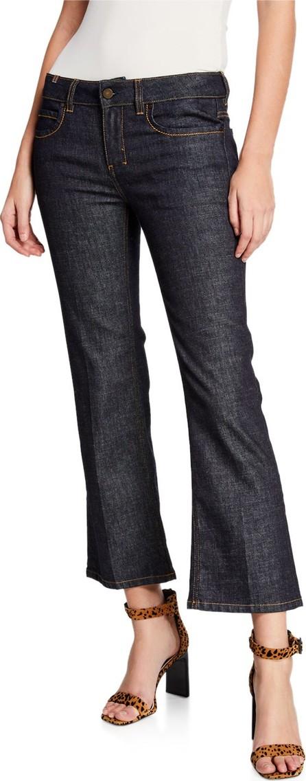 Notify High-Rise Capri Boot-Cut Jeans