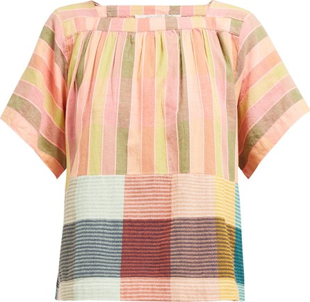 ace&jig Vista striped cotton top