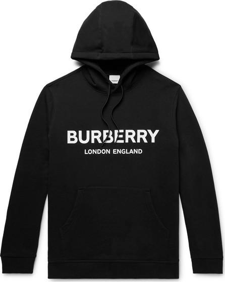 Burberry London England Logo-Print Loopback Cotton Jersey Hoodie
